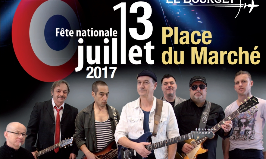 Fête Nationale au Bourget: concert de Soldat Louis