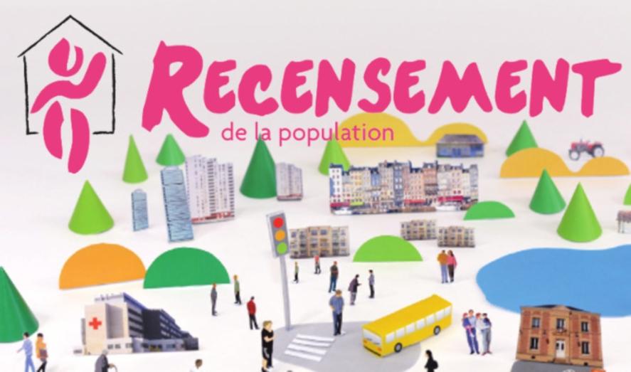Recensement de la population du 16 janvier au 22 février