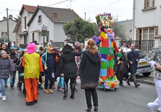 Carnaval des écoles Mermoz et Saint-Exupéry (23-03-2016)
