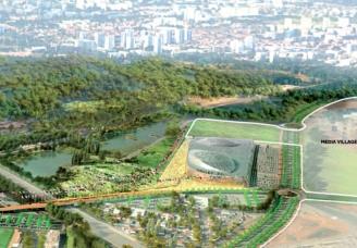 Réunion publique: présentation du projet Jeux Olympiques et Paralympiques 2024 au Bourget