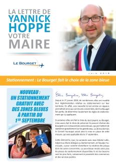 Juin 2018 - Zone Bleue