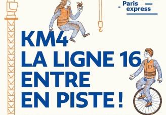 KM4: un week-end artistique et festif autour du Grand Paris