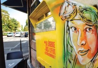 La légende des cieux: un parcours de street-art au Bourget