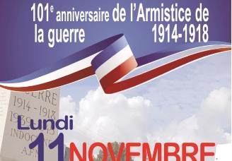 101e anniversaire de l'armistice de la guerre 1914-1918