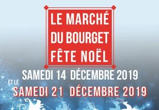 Le marché du Bourget fête Noël