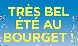 Votre été au Bourget: des animations pour tous!