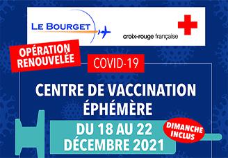 Le centre de vaccination éphémère rouvrira ses...