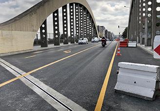 Le pont du Bourget rouvre enfin!